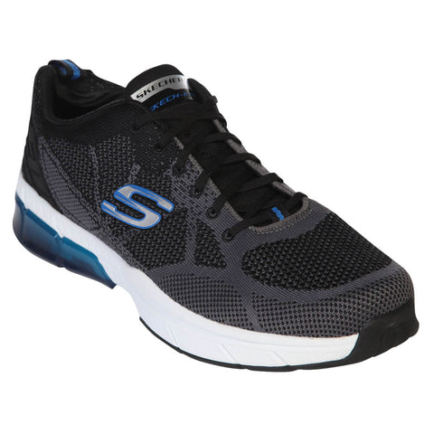 SKECHERS MEN'S TRONTOM - SALIANO BLACK/BLUE