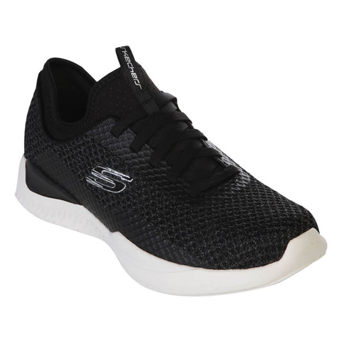SKECHERS MEN'S MATRIXX - BRANSIN LIFESTYLE SHOE BLACK/WHITE