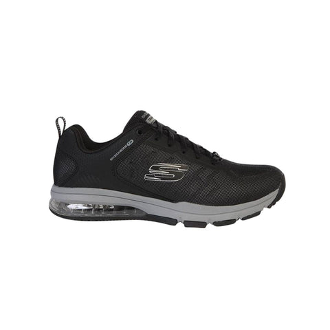 SKECHERS MEN'S AIR DEGREE TRAINING SHOE BLACK/GREY