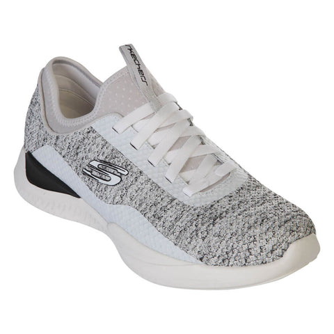 SKECHERS MEN'S MATRIXX - BRANSIN LIFESTYLE SHOE WHITE/BLACK