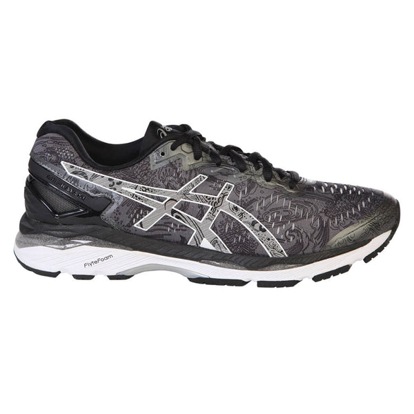 d1d4e0a3fb6a3 ASICS MEN S GEL KAYANO 23 LITE SHOW RUNNING SHOE CARBON SILVER – National  Sports