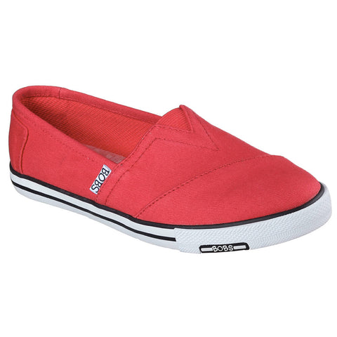 SKECHERS WOMEN'S LOTOPIA - PLEASANTVILLE LIFESTYLE SHOE RED/BLACK