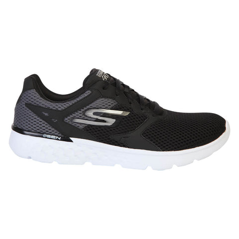 SKECHERS MEN'S GO RUN 400 BLACK/WHITE