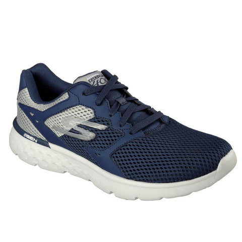 SKECHERS MEN'S GO RUN 400 NAVY/GREY