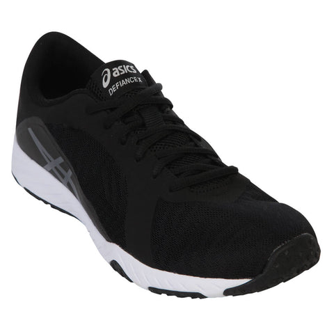 ASICS MEN'S DEFIANCE X BLACK/CARBON/WHITE