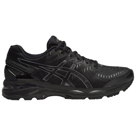 ASICS MEN'S GEL KAYANO 23 RUNNING SHOE BLACK/ONYX/CARBON