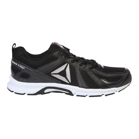 REEBOK MEN'S RUNNER MT RUNNING SHOE  BLACK/WHITE
