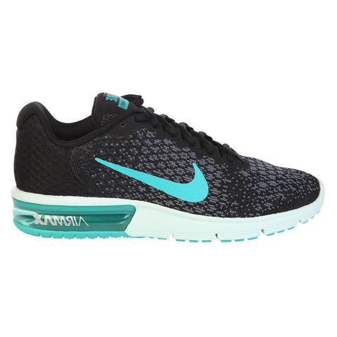 NIKE WOMEN'S AIR MAX SEQUENT 2 BLACK/JADE/GREY