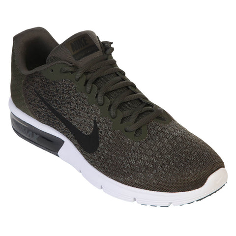 NIKE MEN'S AIR MAX SEQUENT 2 KHAKI/BLACK/OLIVE