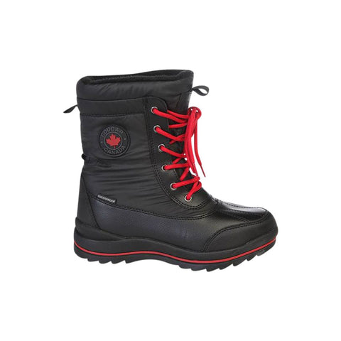 COUGAR WOMEN'S CHAMBLY WINTER BOOT BLACK/RED