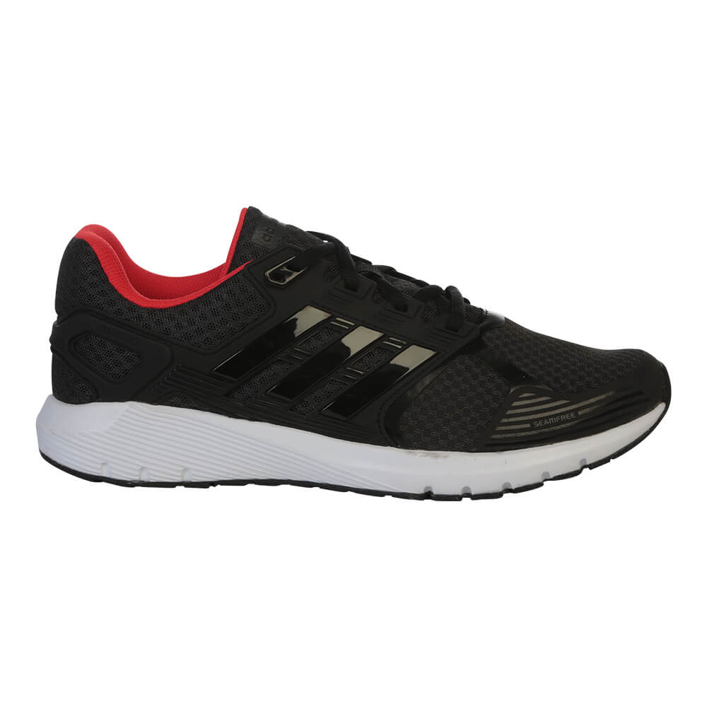 622bfd091264 ADIDAS MEN S DURAMO 8 RUNNING SHOE CARBON BLACK RED – National Sports