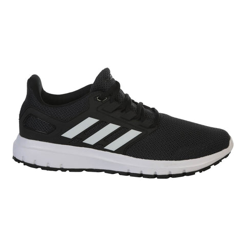 ADIDAS MEN'S ENERGY CLOUD 2 RUNNING SHOE CARBON/WHITE/BLACK