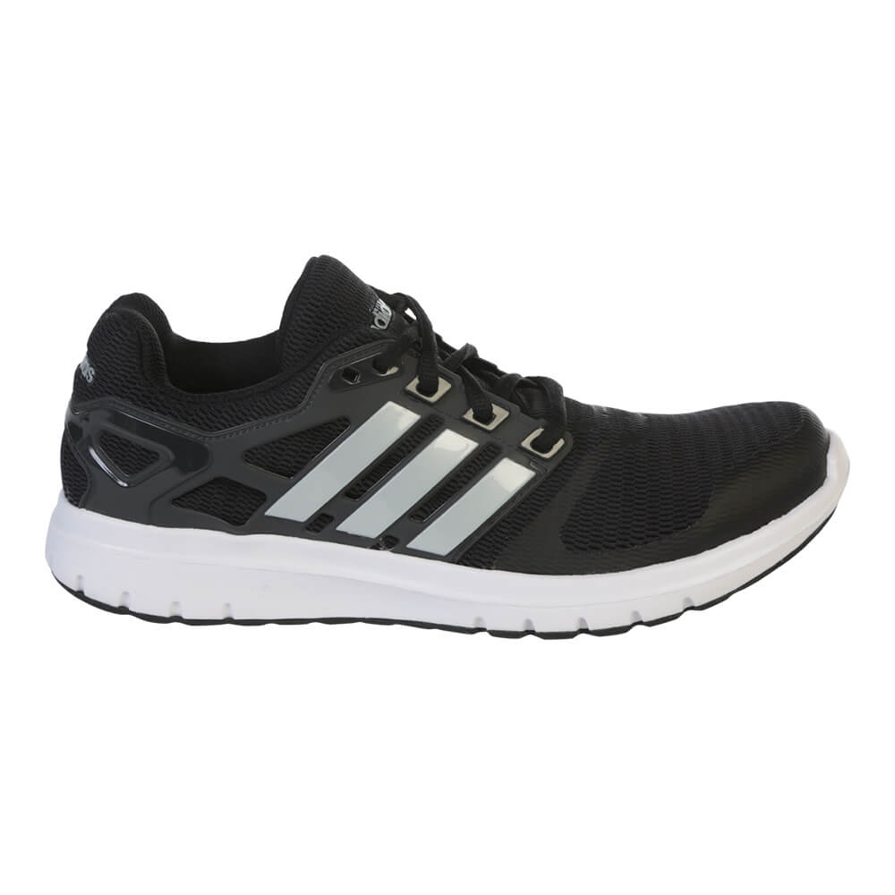 ADIDAS WOMEN S ENERGY CLOUD V RUNNING SHOE BLACK SILVER CARBON fc3a70249