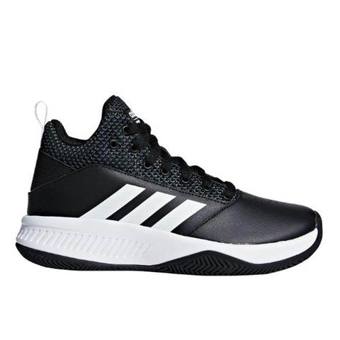 ADIDAS BOYS GRADE SCHOOL CF ILATION 2.0 KIDS SHOE BLACK/WHITE/GREY