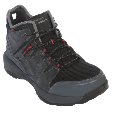 SKECHERS MEN'S GO WALK OUTDOORS 2 - LATITUDE BOOT CHARCOAL/BLACK