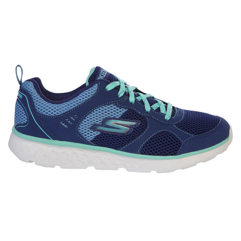 SKECHERS GIRLS PRE-SCHOOL GO RUN 400 BLUE/TURQUOISE