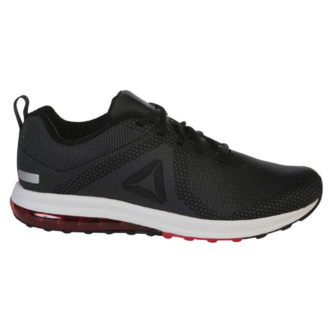 REEBOK MEN S JET DASHRIDE 6.0 RUNNING SHOE BLACK GREY RED 39ca84057