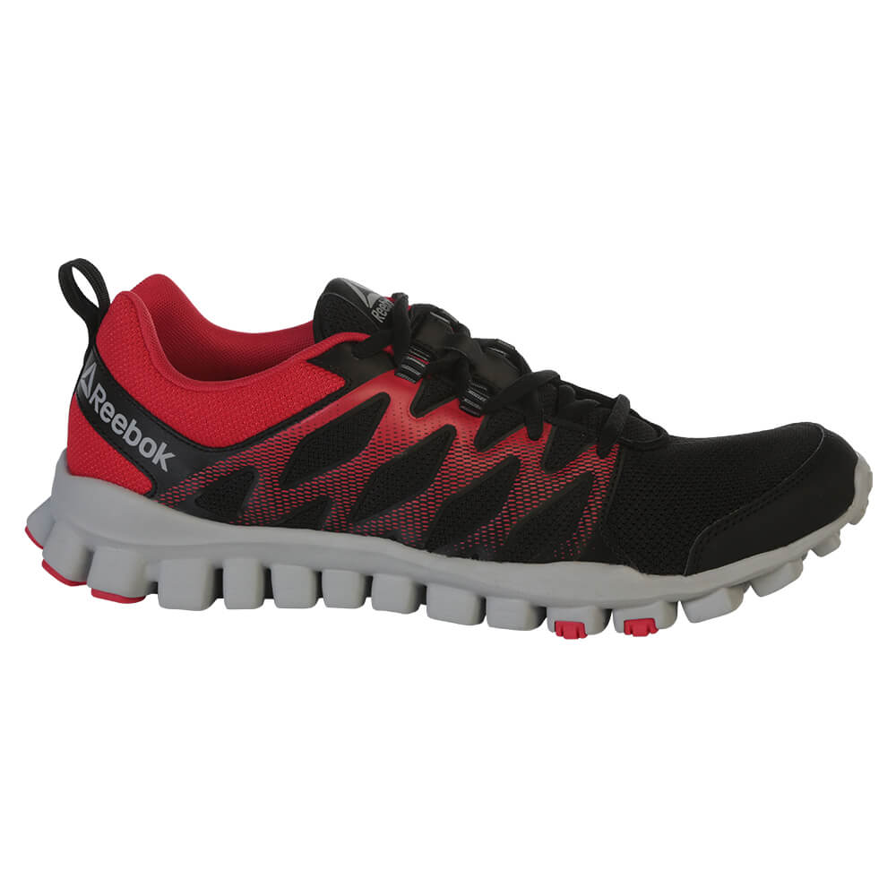 18a2062b1e45 ... greece reebok mens realflex train 4.0 training shoe black red grey  a2f5e 71255