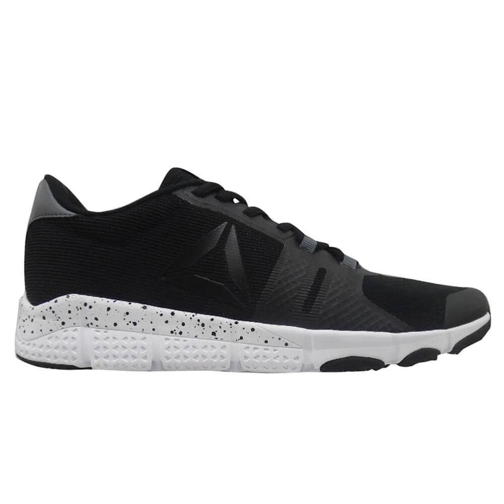 7435b8170 REEBOK MEN S TRAINFLEX 2.0 TRAINING SHOE BLACK ALLOY WHITE ...