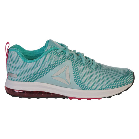 REEBOK WOMEN'S JET DASHRIDE 6.0 RUNNING SHOE  TEAL/PINK/GREY