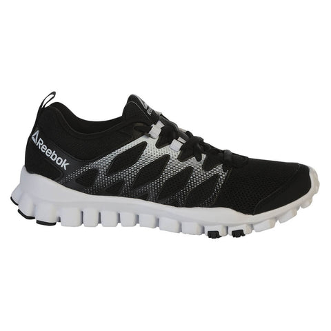 96f1a885370 REEBOK WOMEN S REALFLEX 4.0 TRAINING SHOE BLACK WHITE
