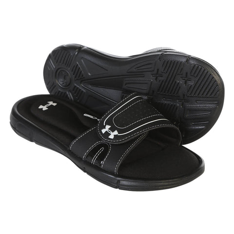 7a53c7deda86a UNDER ARMOUR WOMEN'S IGNITE VIII SLIDE BLACK