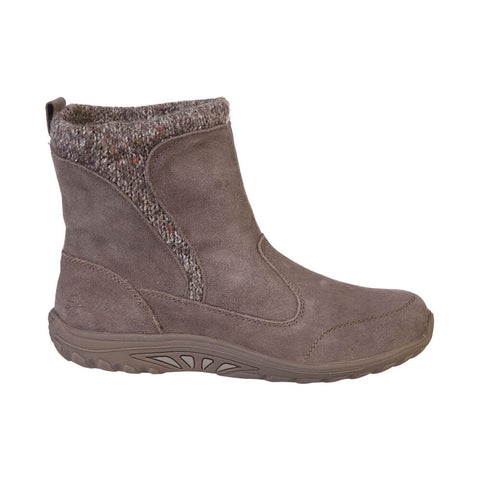 SKECHERS WOMEN'S REGGAE FEST - FOLKSY WINTER BOOT DARK TAUPE