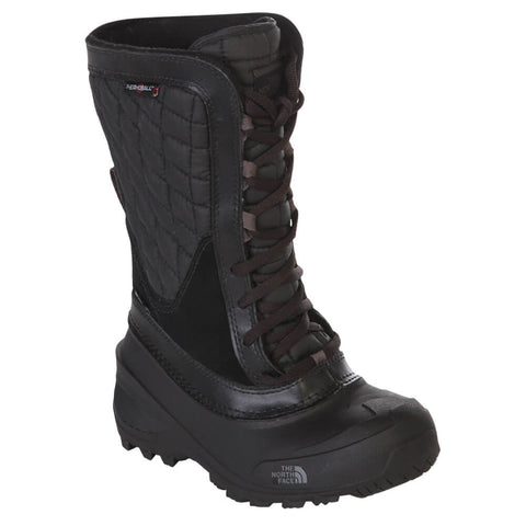 THE NORTH FACE GIRLS THERMOBALL SHELLISTA JUNIOR BOOT BLACK