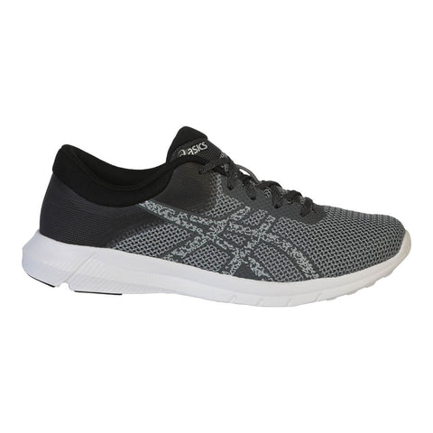 ASICS MEN'S NITROFUZE 2 RUNNING SHOE CARBON/GREY/WHITE