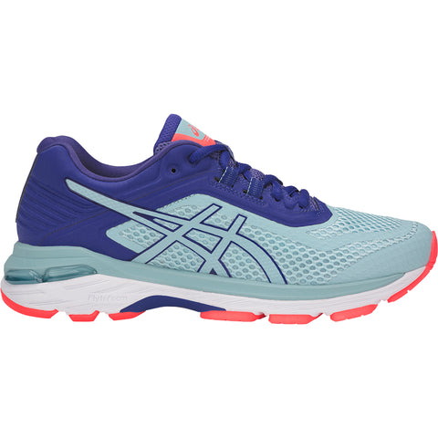 ASICS WOMEN'S GT-2000 6 RUNNING SHOE PORCELAIN BLUE/BLUE