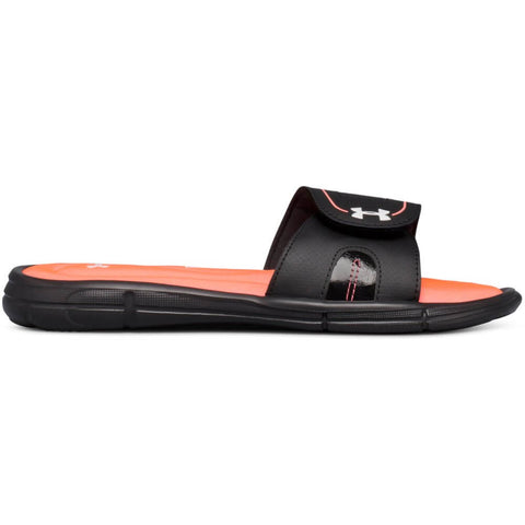 UNDER ARMOUR WOMEN'S IGNITE VIII SLIDE BLACK/PINK