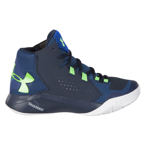 los angeles aefca b2f9c UNDER ARMOUR BOYS GRADE SCHOOL TORCH FADE KIDS SHOE BLUE WHITE GREEN ...