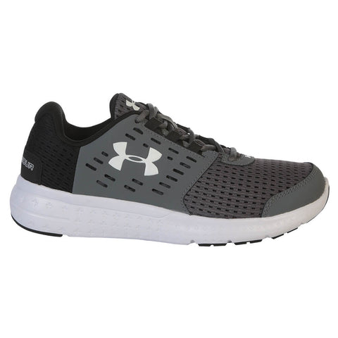 UNDER ARMOUR BOYS PRE-SCHOOL MICRO G MOTION GRAPHITE/BLACK
