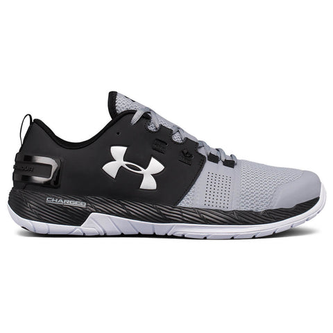 UNDER ARMOUR MEN'S COMMIT TR TRAINING SHOE BLACK/STEEL