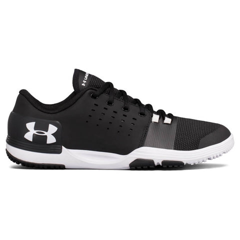 UNDER ARMOUR MEN'S LIMITLESS TR 3.0 TRAINING SHOE BLACK/WHITE