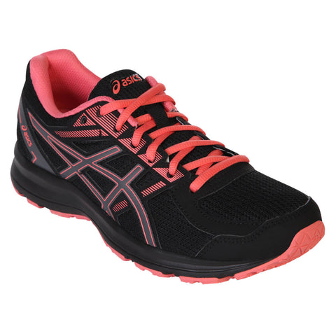 ASICS WOMEN'S JOLT BLACK/CARBON/PEACH