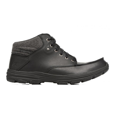 SKECHERS MEN'S GARTON - MELENO LIFESTYLE SHOE BLACK