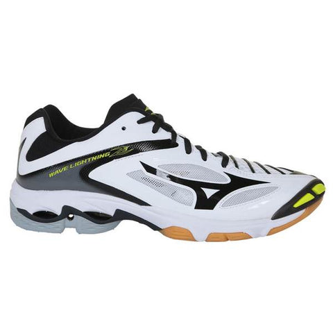 MIZUNO MEN'S WAVE LIGHTNING Z3 COURT SHOE WHITE/BLACK