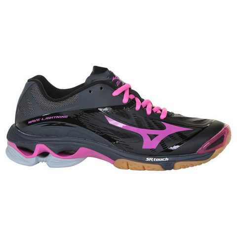 MIZUNO WOMEN'S WAVE LIGHTNING Z2 COURT SHOE BLACK/PINK