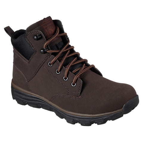 SKECHERS MEN'S FORMAT - GLAVEN WINTER BOOT CHOCOLATE