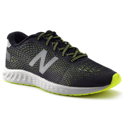 NEW BALANCE BOYS GRADE SCHOOL/PRE-SCHOOL ARISHI KIDS SHOE BLACK/HI-LITE