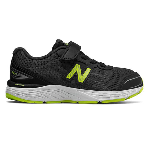 NEW BALANCE BOYS KA680V5 KIDS SHOE PIGMENT/LIMEADE
