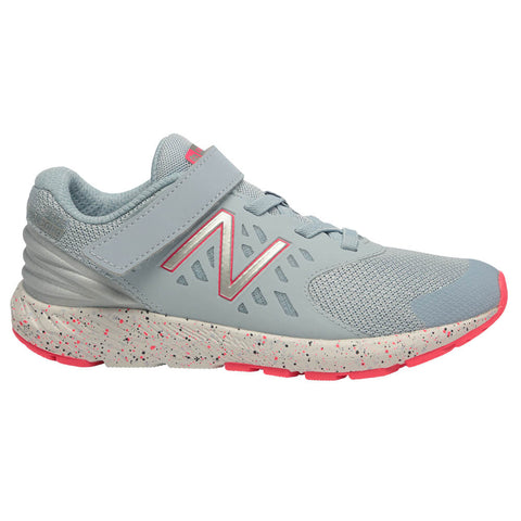NEW BALANCE GIRLS PRE-SCHOOL KVURGV2P KIDS SHOE ICE BLUE/PINK ZING