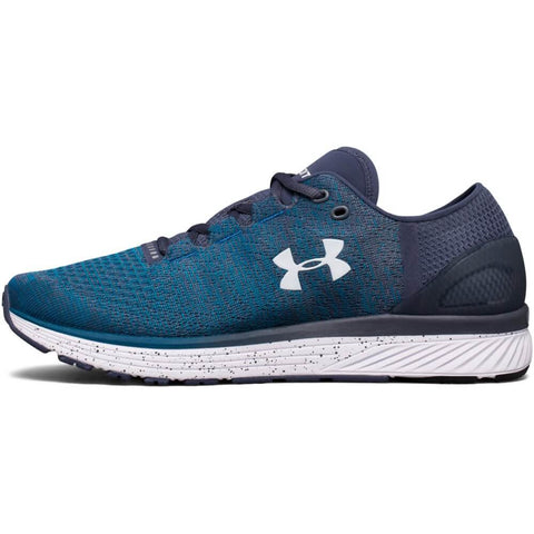 UNDER ARMOUR MEN'S CHARGED BANDIT 3 RUNNING SHOE BLUE/GREY