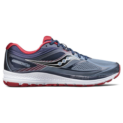 SAUCONY GUIDE 10 GREY/NAVY/RED