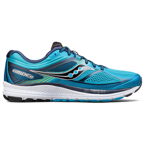 SAUCONY MEN'S GUIDE 10 RUNNING SHOE BLUE/NAVY