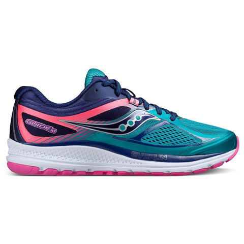 SAUCONY GUIDE 10 TEA/NAVY/PINK