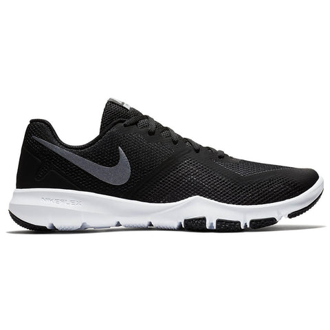 41eb89fade5f8 NIKE MEN S FLEX CONTROL II WIDTH 4E TRAINING SHOE BLACK COOL GREY DARK ...