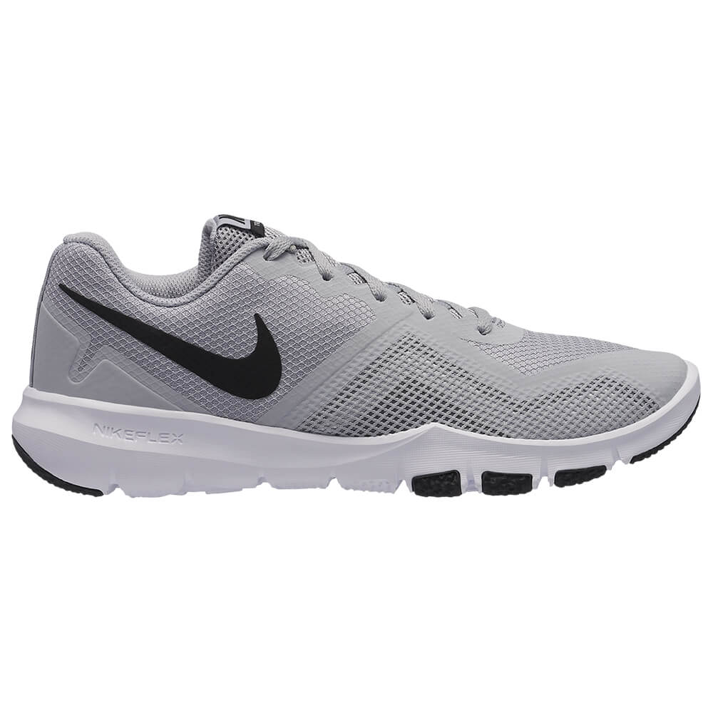 c59946a9ff2d4 NIKE MEN S FLEX CONTROL II TRAINING SHOE WOLF GREY BLACK WHITE ...