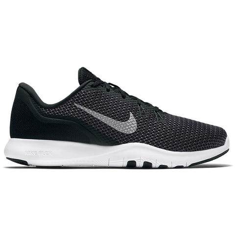 NIKE WOMEN'S FLEX TRAINER 7 (WIDE) TRAINING SHOE BLACK/SILVER/ANTHRACITE